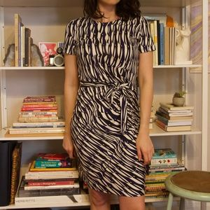 Diane Von Furstenberg pattern dress 8